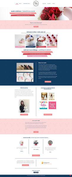 Blue+Ruby Cake Art Homepage